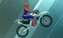 Spiderman Motor op het IJs