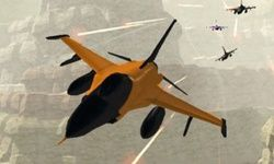 Jet Fighter Naranja