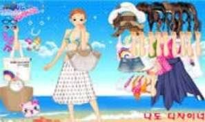 Original game title: Beach Dress Up
