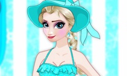 Frozen Elsa Swimwear Design