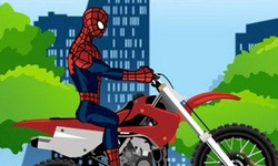 Spiderman Bike Racer