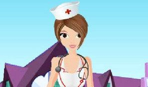 Beautiful Nurse Dress Up
