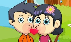 Original game title: Hiding Kisses: J and J