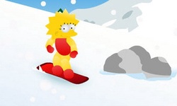 Lisa Simpson Snowboard