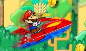 Original game title: Mario Jungle Jet