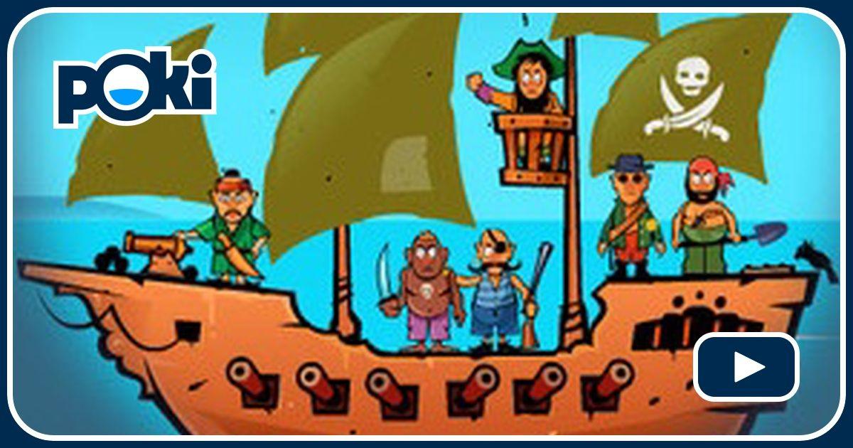 Awesome Pirates Game - Shooting Games - GamesFreak