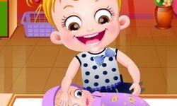 Baby Hazel Newborn Vaccination