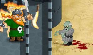 Original game title: Zombie Defense Game