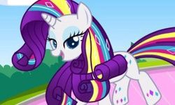 Rarity Rainbow Power Style