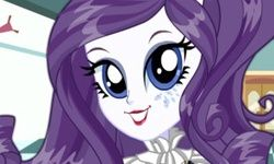 Vestir Rarity no Estilo Escolar