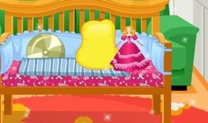 Decor My Baby Girl Crib