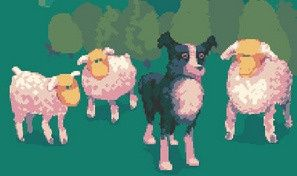 Original game title: Sheepwalk!