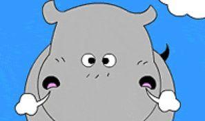Original game title: Hippo Colouring