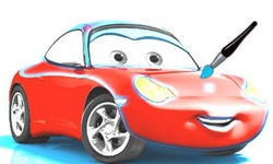 Cars 2 Sally Coloring