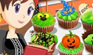 Original game title: Sara's Cooking Class: Halloween Cupcakes