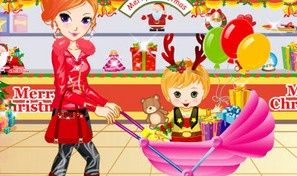 Original game title: Pretty Shopping Mom and Baby