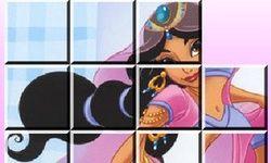 Princess Jasmine Sliding PUzzle