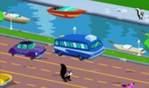 Original game title: Pepe LePew's Love Run