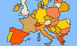 Geografie-Spiel: Europa