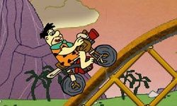 The Flintstones Biking