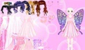 Pink Fairy Dress Up