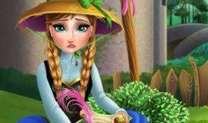 Anna Grows Flower