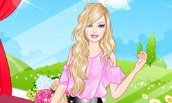 Barbie Tea Time Dress-Up