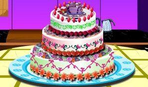 Cooking Barbie Cake