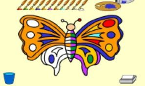 Original game title: Butterfly Coloring
