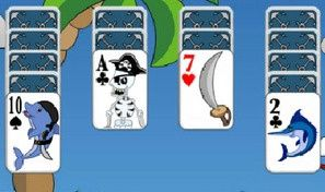Original game title: Pirate Solitaire