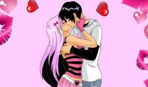 Original game title: Valentine Night of Kisses