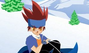 Beyblade Snowsled