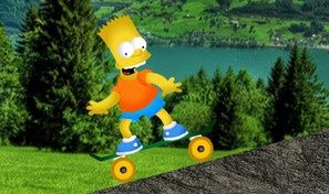 Bart Simpsons Skateboard
