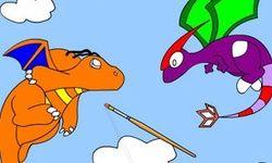 Dragon Battle Coloring