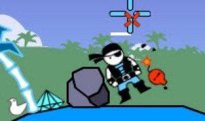 Original game title: Ninjas vs Pirates