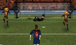 Original game title: Messi's Halloween Shootout