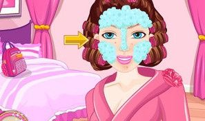 Original game title: Barbie Look Alike Makeover