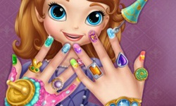 Sofia the First Nail Spa