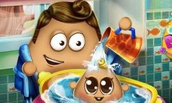 Pou Baby Wash