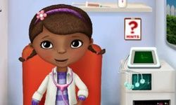 Doc McStuffins in the Ambulance