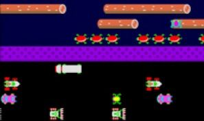 Original game title: Frogger