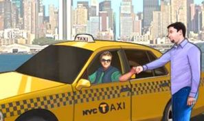 Original game title: NY Cab Driver