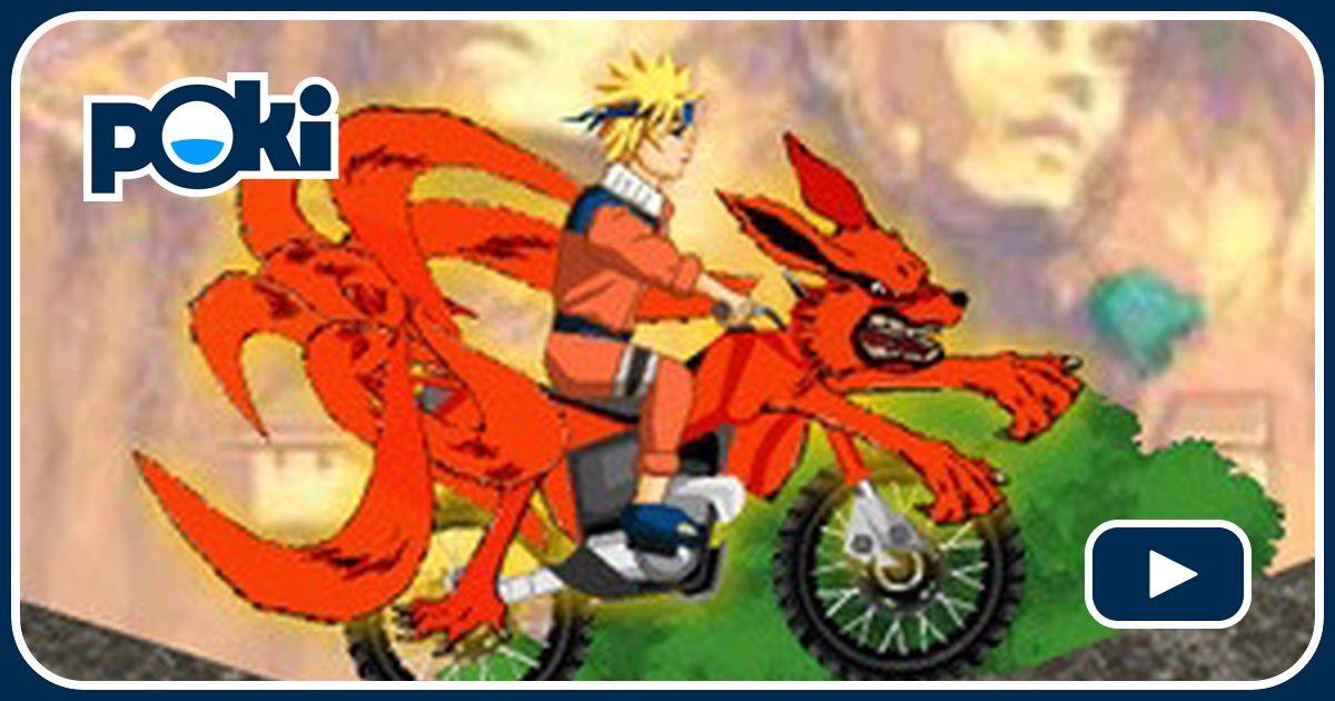naruto bike mission online juega gratis en paisdelosjuegos