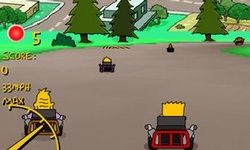 Simpsons Gokarts
