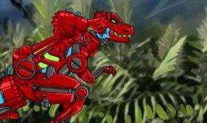 Original game title: Dino Robot: Battlefield