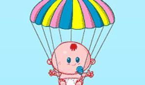 Original game title: Baby Chute