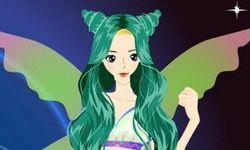 Green Hair Fashion