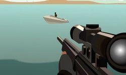 Piraten Scharfschützen Schießerei