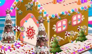 Original game title: Gingerbread House Cake