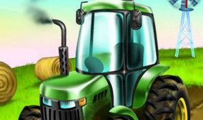 Original game title: Tractor Parking